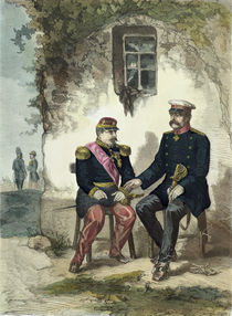Meeting between Otto von Bismarck and Napoleon III at Donchery by German School