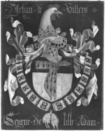 Coat of Arms of Jehan de Villers von Flemish School