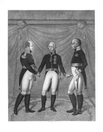 The Holly Alliance, 1815 von J. C. Bock