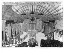 Banquet in the Romer Hall at Frankfurt-am-Main by German School