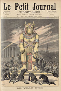 The Golden Calf, from 'Le Petit Journal' by Henri Meyer
