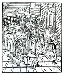 Study for The Death of Sardanapalus von Ferdinand Victor Eugene Delacroix
