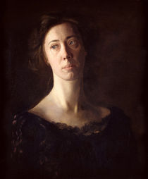 Portrait of Clara J. Mather by Thomas Cowperthwait Eakins