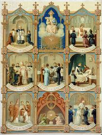 The Seven Sacraments von French School