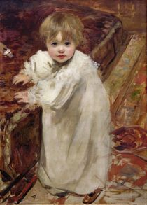 Colette's First Steps, 1895 by Henri Gervex
