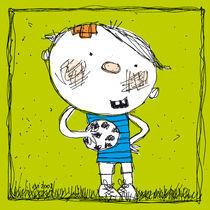 Ein kleiner Fussballer by Evi Gasser