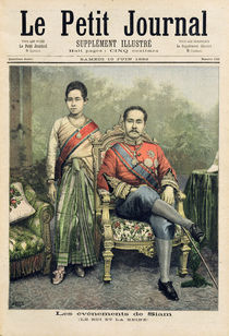 The King and Queen of Siam by Henri Meyer