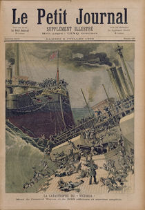 An Accident Aboard the 'Victoria' by Henri Meyer