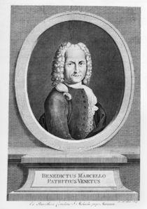 Portrait of Benedetto Marcello von French School