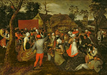 Peasant Fair by Pieter the Elder Bruegel