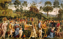 The Journey of Moses, c.1481-83 by Pietro Perugino