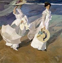 Strolling along the Seashore von Joaquin Sorolla y Bastida