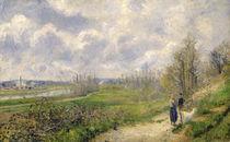 La Sente du Chou, near Pontoise by Camille Pissarro