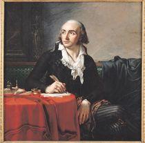 Portrait of Giuseppe Fravega 1795 by Anne Louis Girodet de Roucy-Trioson