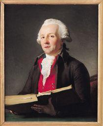 Portrait of Dazincourt 1792 by Francois Andre Vincent