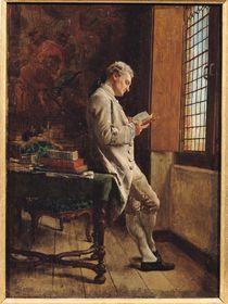 The Reader in White, 1857 by Jean-Louis Ernest Meissonier