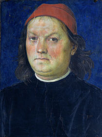 Self Portrait, from the Sala dell'Udienza by Pietro Perugino