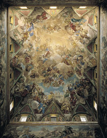 The Celestial Glory and the Triumph of the Habsburgs by Luca Giordano