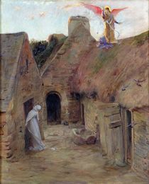 The Annunciation, 1908 by Luc-Oliver Merson