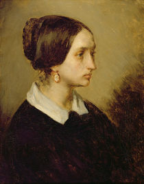 Portrait of Madame Ono, 1844 by Jean-Francois Millet