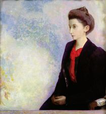 Portrait of Baroness Robert de Domecy von Odilon Redon