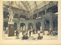 The New Sculpture Pavilion at the Palais de l'Industrie von Henri Meyer
