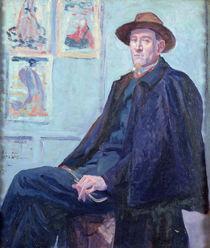 Portrait of Felix Feneon 1901 von Maximilien Luce