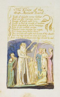'The Voice of the Ancient Bard' by William Blake