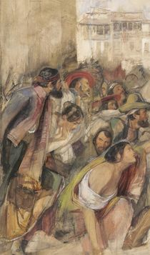 Study for the Proclamation of Don Carlos by John Frederick Lewis