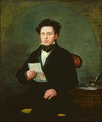 Juan Bautista de Muguiro 1827 von Francisco Jose de Goya y Lucientes
