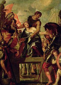 Martyrdom of St. Menas by Veronese