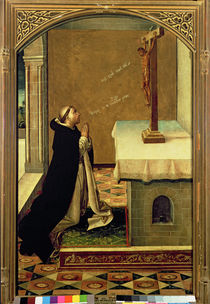 St. Peter Martyr at Prayer by Pedro Berruguete