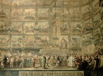 The Masked Ball, c.1767 by Luis Paret y Alcazar