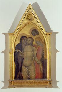 Pieta, 1365 by Giovanni da Milano