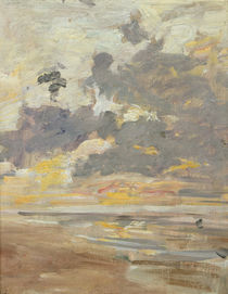 Large Sky, c.1888-95 by Eugene Louis Boudin