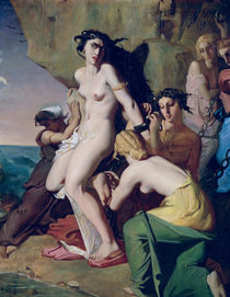 Andromeda Tied to the Rock by the Nereids by Theodore Chasseriau