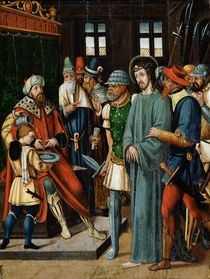 Jesus Before Pilate von French School