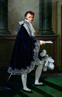 Portrait of Francois-Nicolas Mollien 1806 by Robert Lefevre