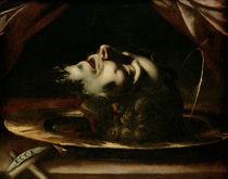 The Head of St. John the Baptist by Francesco del Cairo