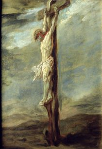 Christ on the Cross by Peter Paul Rubens