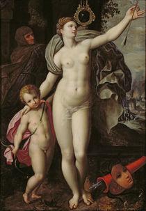 Venus and Cupid von Jacques de Backer