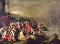 The Crossing of the Red Sea by Frans II the Younger Francken