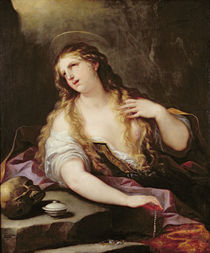 St. Mary Magdalene Renouncing the Vanities of the World by Luca Giordano