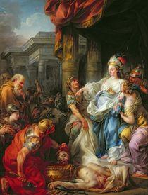 The Beheading of Cyrus II von Jean-Simon Berthelemy