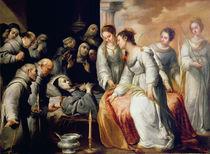 The Death of St. Clare von Bartolome Esteban Murillo