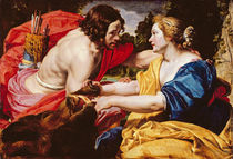 Return from the Hunt or, Meleager and Atalanta by Abraham Janssens van Nuyssen