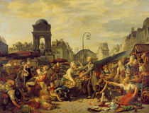 The Marche des Innocents, c.1814 by Jean-Charles Tardieu