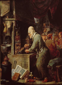 The Alchemist by David the Younger Teniers