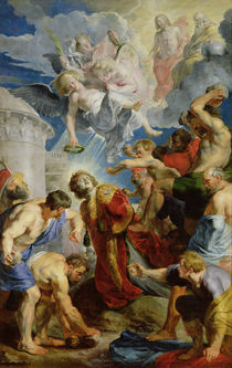 The Stoning of St. Stephen by Peter Paul Rubens