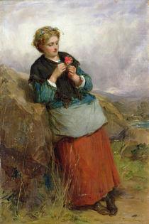 The Flower of Dunblane, 1867 von Thomas Faed